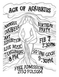 Aquarius Age flyer