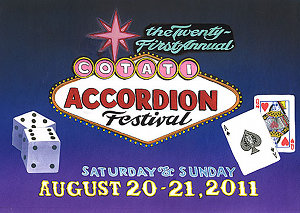Cotati Accordion Festival logo